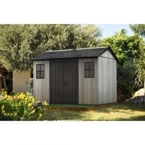 Oakland 11 ft. W x 7 ft. D Plastic Garden Shed Keter