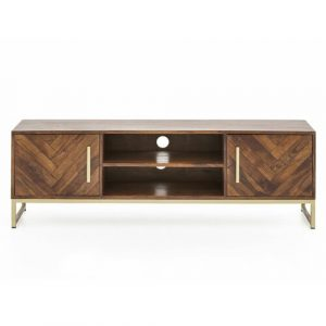 """Old Harbour TV Stand for TVs up to 59"""" Massivum Colour: Brown"""