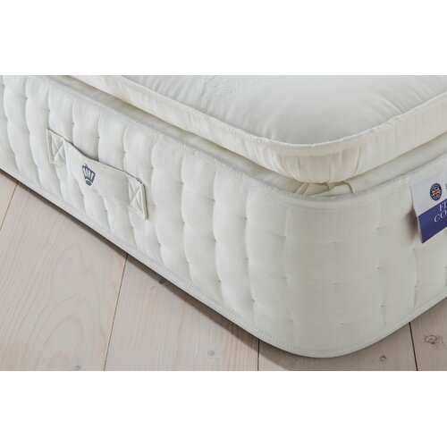 Pillow-Top Pocket Sprung 2000 Spring Mattress Rest Assured