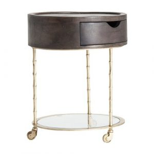 Remaley Side Table with Storage Williston Forge