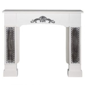 Ron Fireplace Mantel Surround Fleur De Lis Living