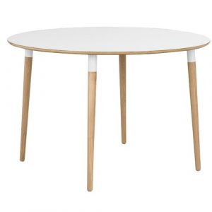 Round Legs Dining Table Mikado Living
