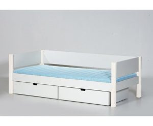 Sif European Single Frame Bed with Drawers Manis-h