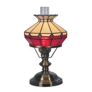 Stony Creek Table Lamp Ophelia & Co. Colour: Beige/Red
