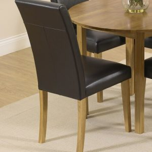 Thaddeus Folding Dining Set with 4 Chairs ClassicLiving Colour (Chair): Brown