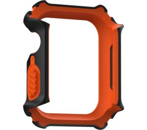 UAG Gear Apple Watch 44 mm Case - Black & Orange, Black