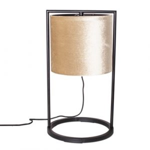 Vieste 45cm Table Lamp ByRydens Shade Colour: Gold