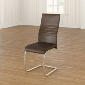 Vittoria Upholstered Dining Chair All Home Number of chairs: 3