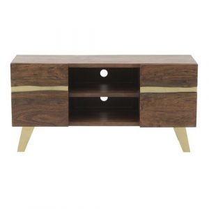 "Wells TV Stand for TVs up to 55"" Bay Isle Home"
