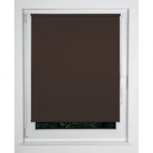 Win Blackout Roller Blind mydeco® Finish: Brown, Size: 160cm L x 100cm W