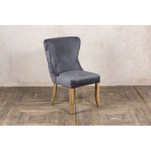 Wirriana Upholstered Dining Chair Rosalind Wheeler Upholstery Colour: Grey