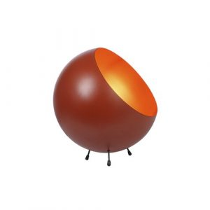 XL Bell 26cm Table Lamp Leitmotiv Finish: Terracotta Orange