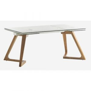 Yara Extendable Dining Table Isabelline