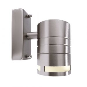 Zilly LED Outdoor Sconce Deko Light Frame Colour: nickel