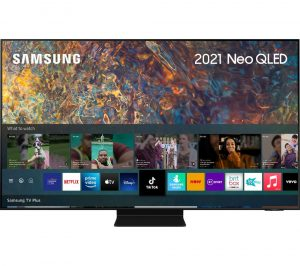 "50"" SAMSUNG QE50QN90AATXXU Smart 4K Ultra HD HDR Neo QLED TV with Bixby, Alexa & Google Assistant, Black"