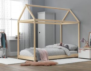 Argos Home House Bed Single Bed Frame - Pine