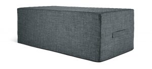 Argos Home Prim Double Fabric Sofa Bed - Charcoal