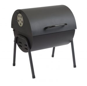 Argos Home Table Top Oil Drum Charcoal BBQ