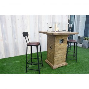 Bar Table With Fireplace Rova