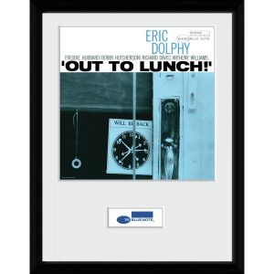 'Blue Note Dolphy' Framed Graphic Art Print