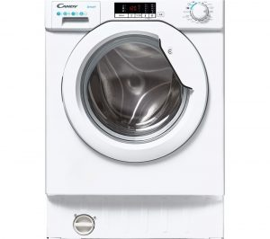 CANDY CBW 47D2E Integrated 7 kg 1400 Spin Washing Machine - White, White