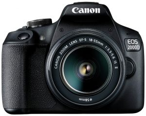 Canon EOS 2000D DSLR Camera with 18-55mm IS Lens