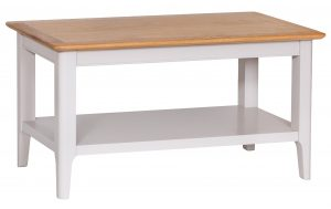 Daniella Oak and Grey Small Coffee Table