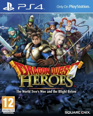 Dragon Quest: Heroes PS4 Game.