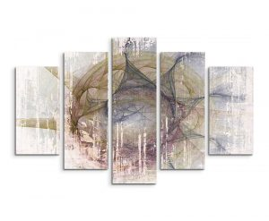 Enigma Abstract 1488 Graphic Art Print Multi-Piece Image on Canvas