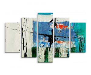 Enigma Abstract 573 Graphic Art Print Multi-Piece Image on Canvas