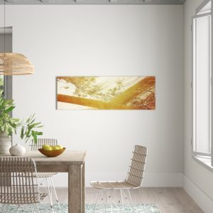 Enigma Panorama Abstract 579 Graphic Art Print on Canvas