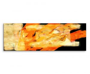 Enigma Panorama Abstract 761 Graphic Art Print on Canvas
