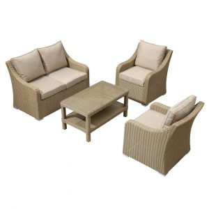 Griffithville Garden Sofa with Cushions
