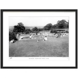 Heanor, Paddling Pool C1960' - Picture Frame Photograph Print on Paper