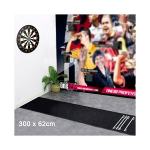 Heavy Duty Darts Dart Mat Rubber Soft Feel Professional Darts Mat