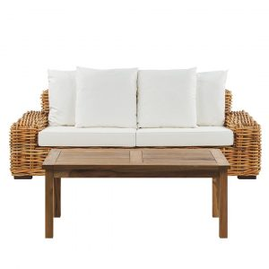 Melodie Garden Sofa with Cushions