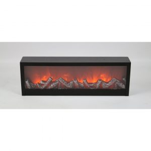 Nathaniel Metal Tabletop Fireplace