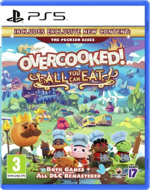 Overcooked: All You Can Eat PS5 Game