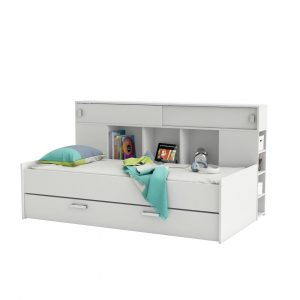 Patrick European Single Cabin Bed with Trundle