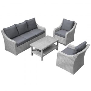 Pineville Garden Sofa with Cushions