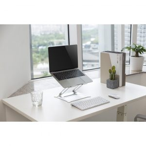 Symple Stuff Height Adjustable Aluminium Laptop Or Tablet Riser Stand