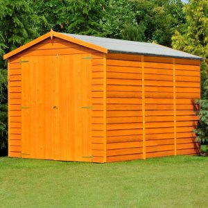 6 ft. W x 12 ft. D Garden Shed