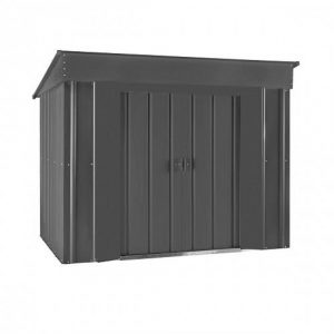 6 ft. W x 4 ft. D Metal Garden Shed