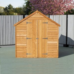 6 ft. W x 8 ft. D Garden Shed