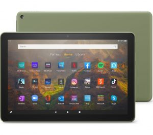 """Amazon Fire HD 10 10.1"""" Tablet (2021) - 32 GB, Olive, Olive"""