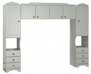 Argos Home Nordic Overbed Fitment - Grey & Pine