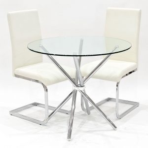 Bilston Folding Dining Set with 2 Chairs