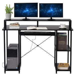 Computer Desk Office Desk Laptop Table For Small Spaces Study Workstation Home-Office Table Multifunctional Desk