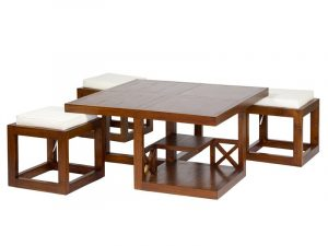 Diner 5-Piece Coffee Table Set