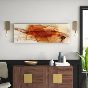 Enigma Panorama Abstract 792 Graphic Art Print on Canvas